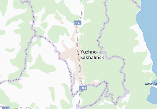 Yuzhno-Sakhalinsk Map