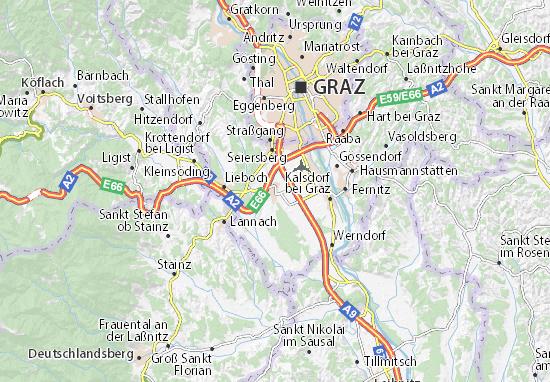 Mapas-Planos Unterpremstätten