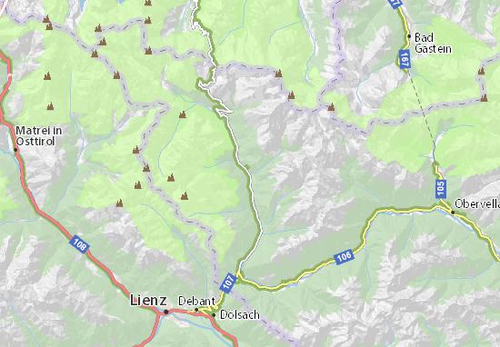 Döllach Map