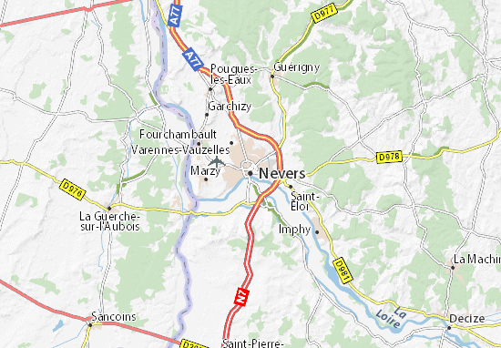 Mappe-Piantine Nevers