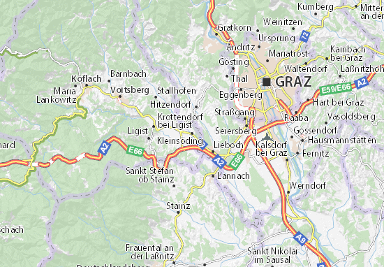 Mapas-Planos Kleinsöding