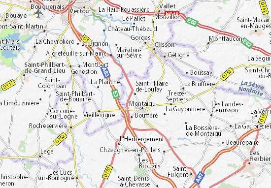 Saint-Hilaire-de-Loulay Map