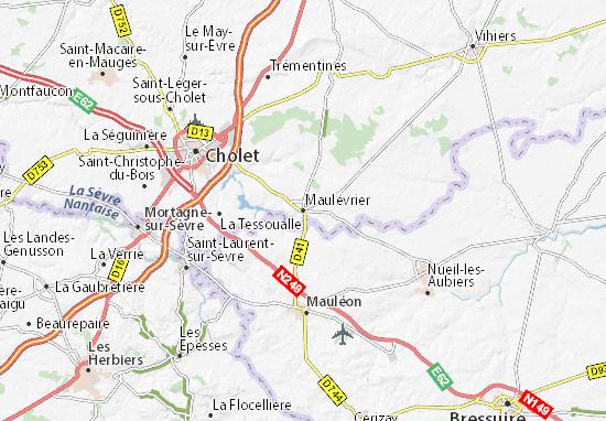 Maulévrier Map