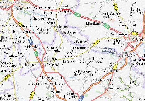 Mapas-Planos La Bruffière