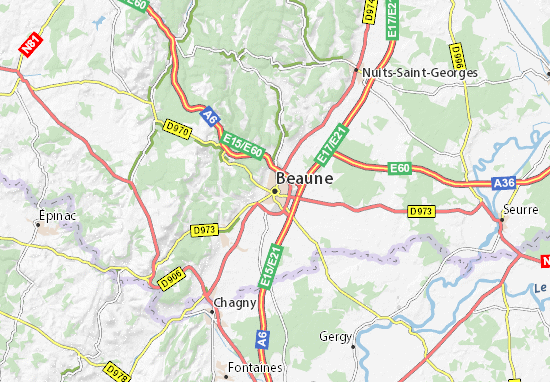 Mappe-Piantine Beaune