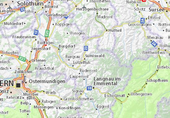 Mapas-Planos Sumiswald