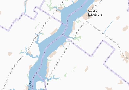 Zavodivka Map