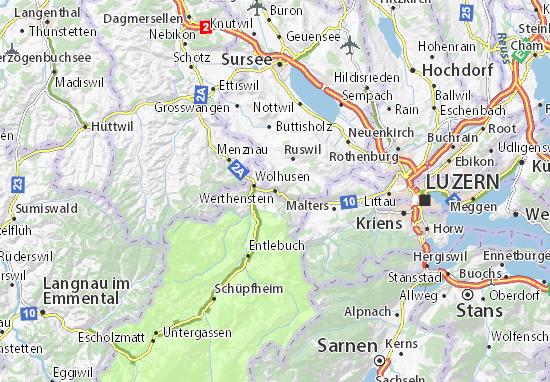 Carte-Plan Werthenstein