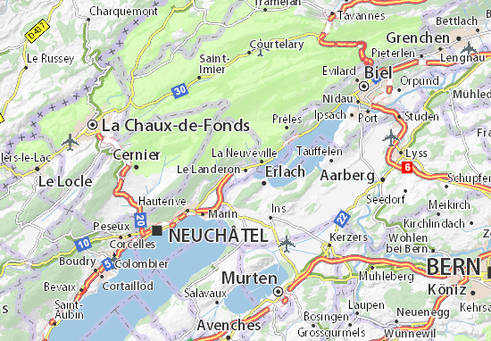Carte-Plan Le Landeron