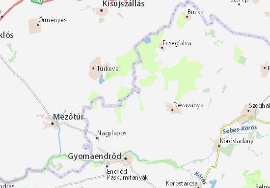 Mappe-Piantine Csudabala