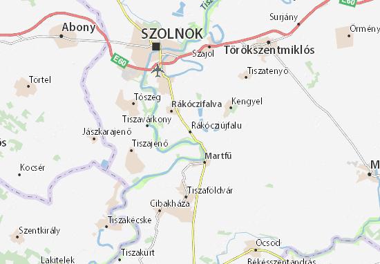 Mapas-Planos Rákócziújfalu