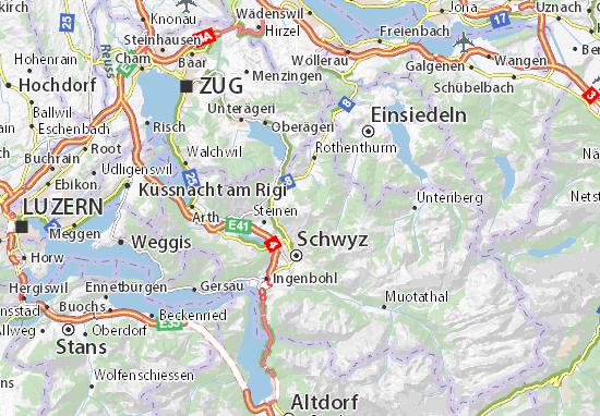 Carte-Plan Schwyz