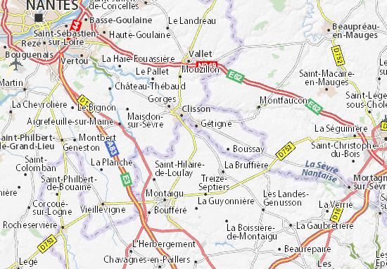 Cugand Map