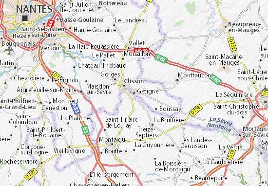 Mapas-Planos Gétigné