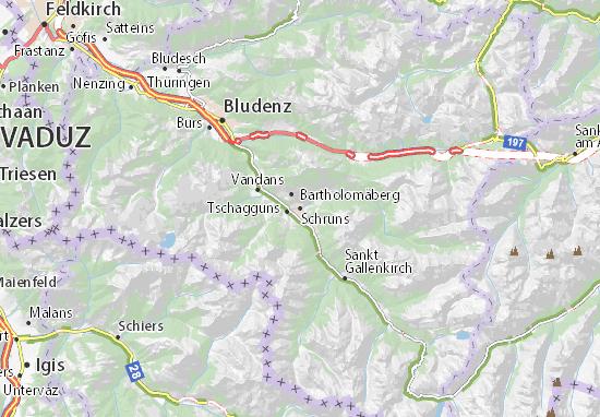 Schruns Map