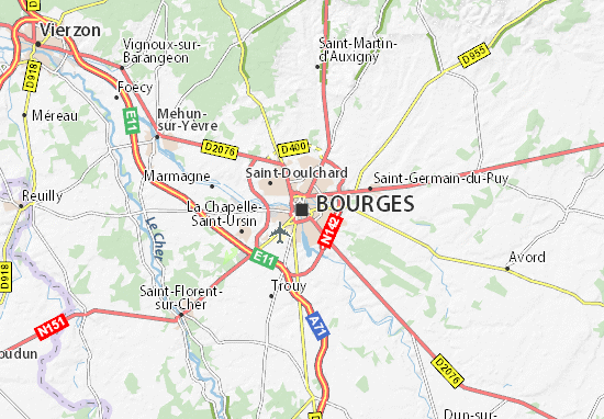 Mappe-Piantine Bourges