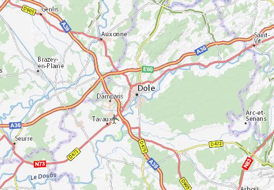 Mappe-Piantine Dole
