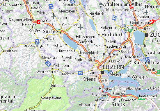 Carte-Plan Neuenkirch