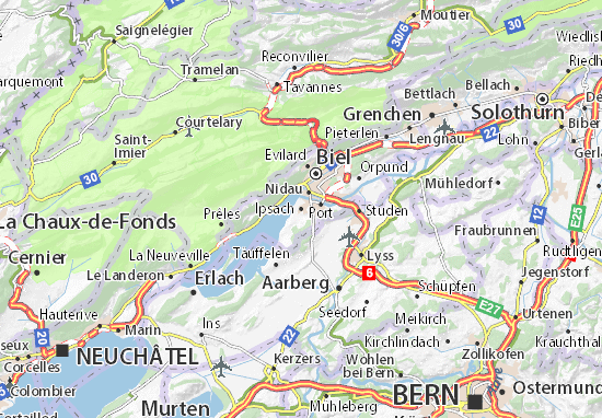 Carte-Plan Ipsach