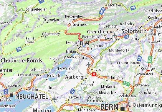 Karte Stadtplan Port