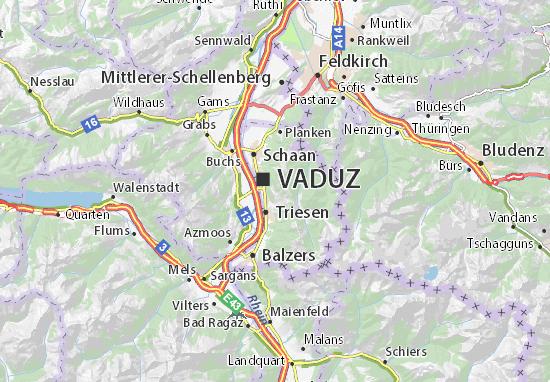 Karte Stadtplan Rotaboda