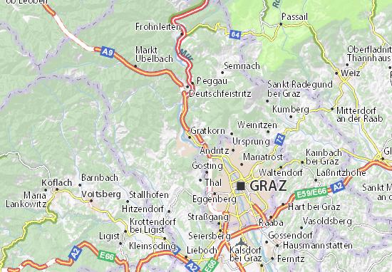 Mapas-Planos Kirchenviertel