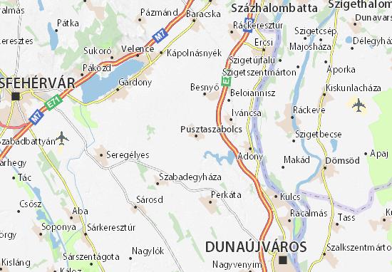 Mapas-Planos Pusztaszabolcs