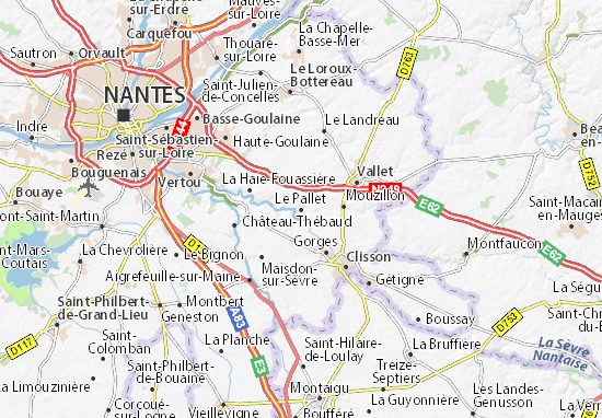 Mapa Plano Le Pallet