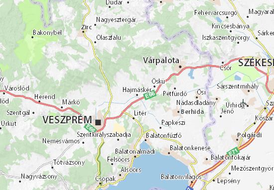 Mapas-Planos Hajmáskér