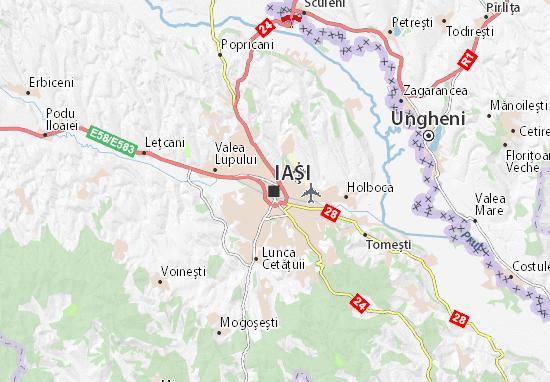 Iaşi Map