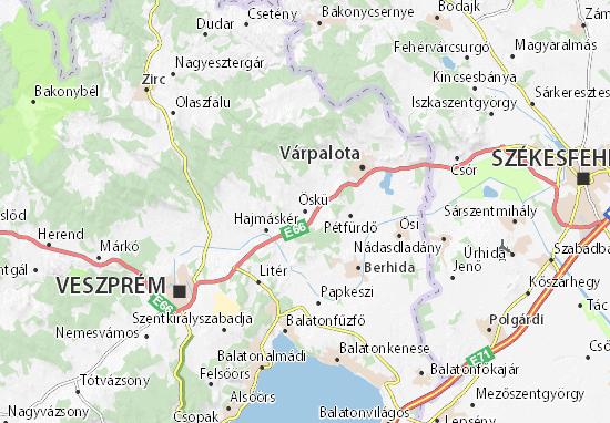 Öskü Map