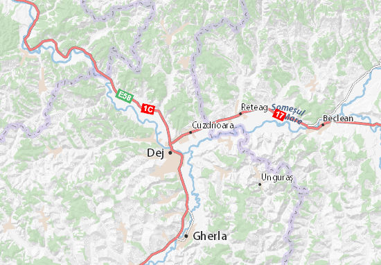Cuzdrioara Map