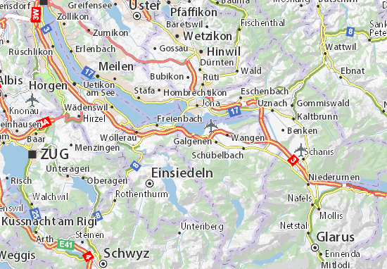 Carte-Plan Altendorf