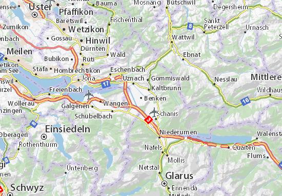 Benken Map