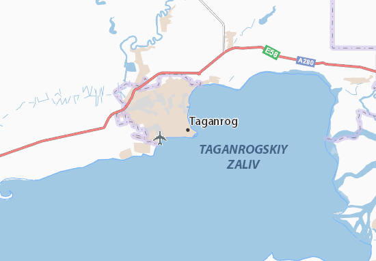 Carte-Plan Taganrog