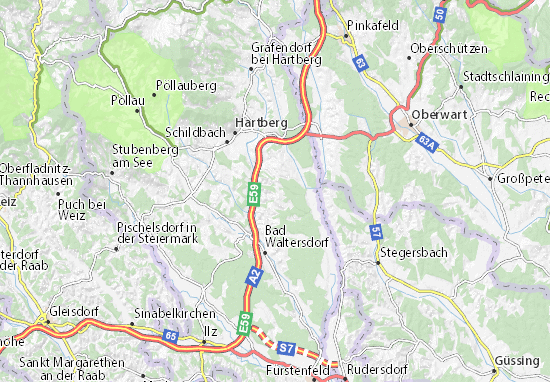 Mapas-Planos Sankt Magdalena am Lemberg