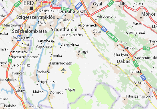 Bugyi Map