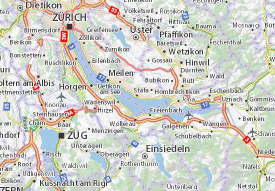 Stäfa Map