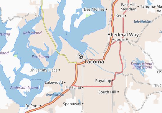 Carte-Plan Tacoma