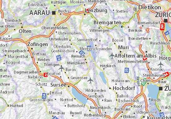 Mapa Plano Reinach