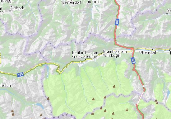 Mapas-Planos Neukirchen am Großvenediger