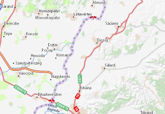 Carte-Plan Mihai Bravu
