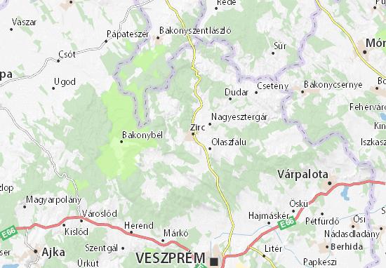Mappe-Piantine Zirc
