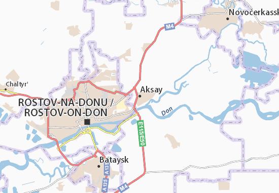 Mapa Plano Aksay