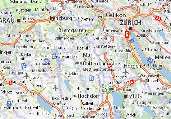 Mapa Plano Muri