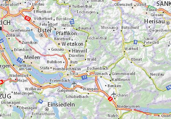 Wald Map