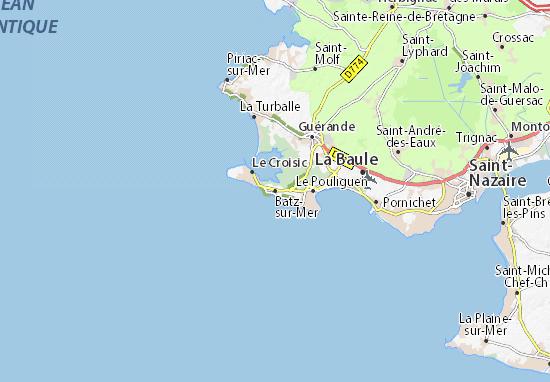 Mapas-Planos Batz-sur-Mer