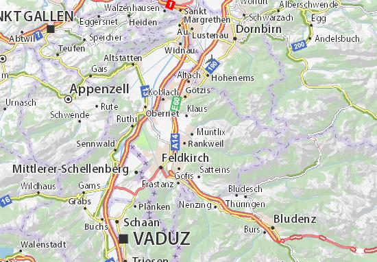Karte Stadtplan Sulz