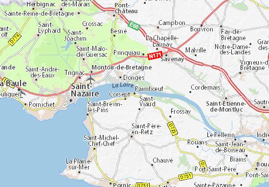 Mapa Plano Paimbœuf