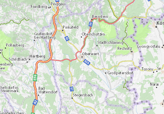 Mappe-Piantine Oberwart